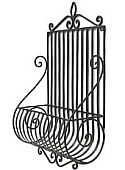 Wrought Iron Metal planter