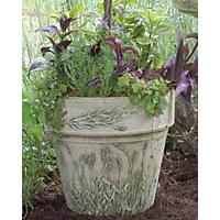 Terracotta Lavender Planter White
