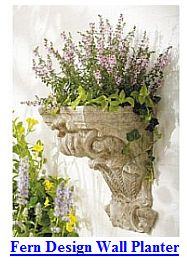 Weathered Wall Planter